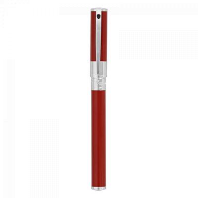 STYLO ROLLER S.T. DUPONT INITIAL ROUGE