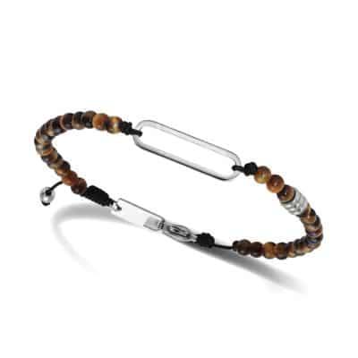 bracelet rochet oeil de tigre talisman
